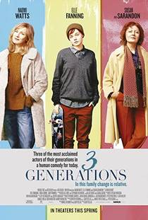 Picture of a movie: 3 Generations