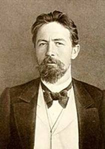 Picture of an author: Anton Chekhov