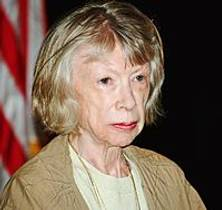 Picture of an author: Joan Didion