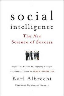 Picture of a book: Social Intelligence: The New Science of Success