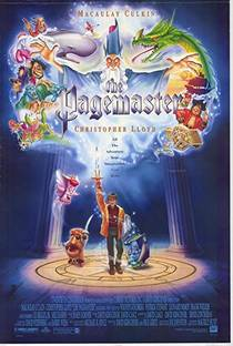 Picture of a movie: The Pagemaster