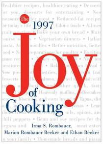 Picture of a book: The Joy Of Cooking