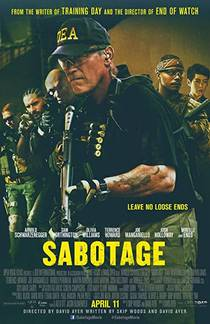 Picture of a movie: Sabotage