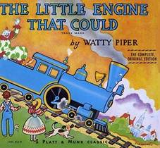 Picture of a book: The Little Engine That Could