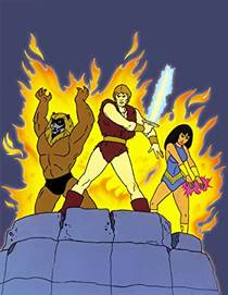 Picture of a TV show: Thundarr The Barbarian