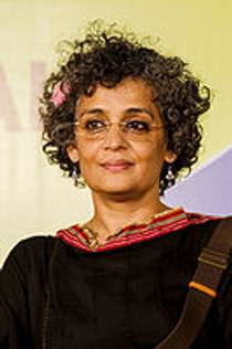 Picture of an author: Arundhati Roy
