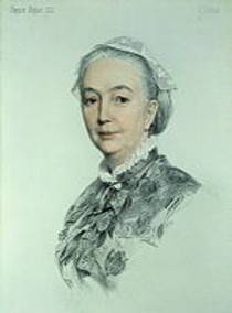 Picture of an author: Mrs. Oliphant