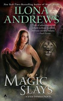 Picture of a book: Magic Slays