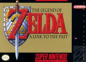 Picture of a game: The Legend Of Zelda: A Link To The Past