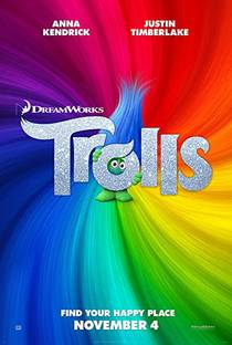 Picture of a movie: Trolls