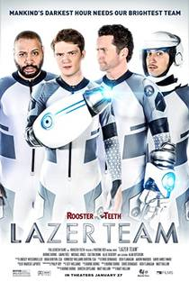Picture of a movie: Lazer Team