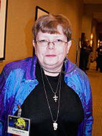 Picture of an author: Tamora Pierce