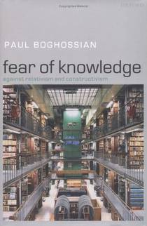 Picture of a book: Fear of Knowledge: Against Relativism and Constructivism