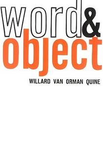 Picture of a book: Word And Object