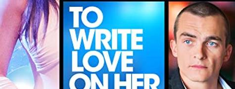 Image of To Write Love On Her Arms