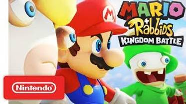 Picture of a game: Mario + Rabbids: Kingdom Battle
