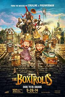 Picture of a movie: The Boxtrolls