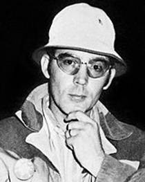 Picture of an author: Hunter S. Thompson