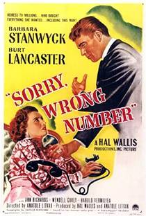 Picture of a movie: Sorry, Wrong Number