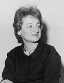 Picture of an author: Betty Friedan