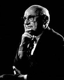 Picture of an author: Milton Friedman