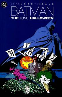 Picture of a book: Batman: The Long Halloween