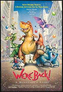 Picture of a movie: We're Back! A Dinosaur's Story