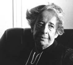 Picture of an author: Hannah Arendt
