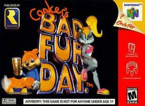 Picture of a game: Conker's Bad Fur Day