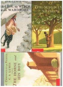Picture of a book: The Magician's Nephew / The Lion, The Witch and the Wardrobe / The Horse and His Boy