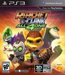 Picture of a game: Ratchet & Clank: All 4 One