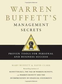 Picture of a book: Warren Buffett's Management Secrets: Proven Tools For Personal And Business Success