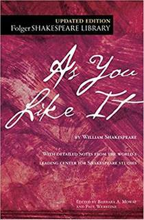 Picture of a book: As You Like It