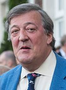 Picture of an author: Stephen Fry