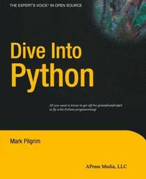 Picture of a book: Dive Into Python