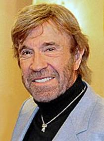 Picture of an author: Chuck Norris