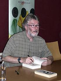 Picture of an author: Iain M. Banks