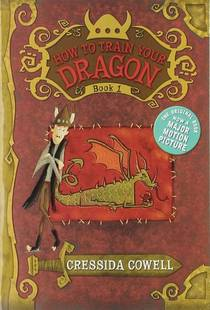 Picture of a book: How To Train Your Dragon