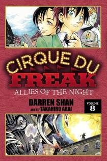 Picture of a book: Cirque Du Freak: Allies of the Night, Vol. 8