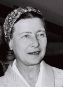 Picture of an author: Simone De Beauvoir