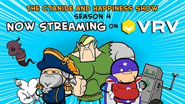 Picture of a TV show: The Cyanide & Happiness Show