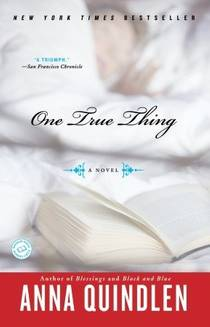 Picture of a book: One True Thing