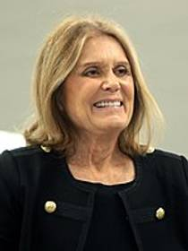 Picture of an author: Gloria Steinem