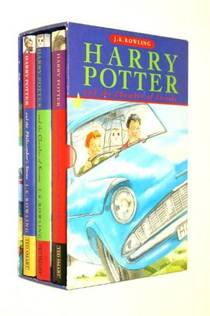 Picture of a book: The Harry Potter Trilogy