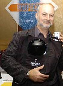 Picture of an author: David Brin