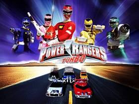 Picture of a TV show: Power Rangers Turbo