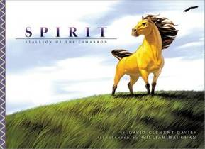 Picture of a book: Spirit: Stallion on the Cimarron (Picture Book)