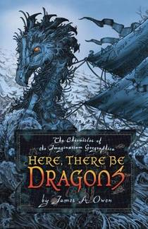 Picture of a book: Here, There Be Dragons