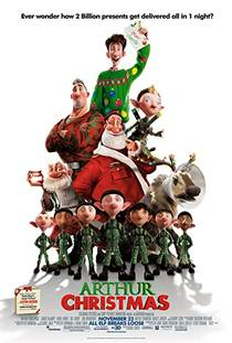 Picture of a movie: Arthur Christmas
