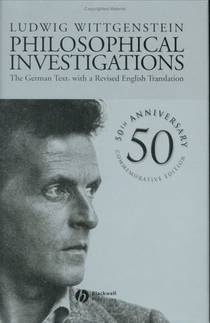 Picture of a book: Philosophical Investigations
